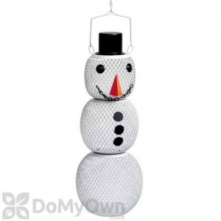No / No Feeder Snowman Bird Feeder 1.5 lb. (SM00345)
