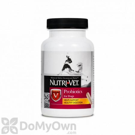 Nutri - Vet Probiotics Capsules For Dogs