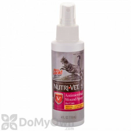 Nutri - Vet Antimicrobial Wound Spray for Cats