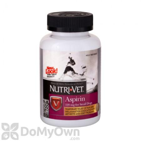 Nutri - Vet Aspirin for Small Dogs 120 mg