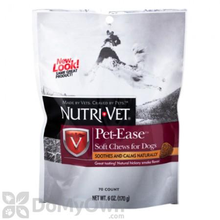 Nutri - Vet Pet - Ease Soft Chews for Dogs