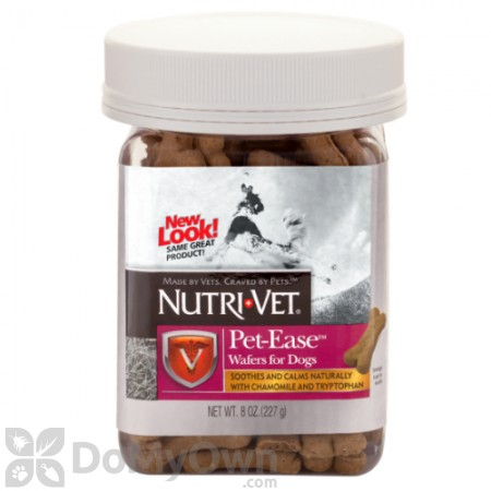 Nutri - Vet Pet - Ease Wafers for Dogs Chicken Flavor