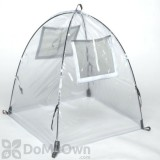 NuVue Pop - UP  Framed Greenhouse - Clear PVC (28\