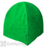 NuVue Frost Cover - GEN II Synthetic Framed Heavy Duty Garden Green (36\