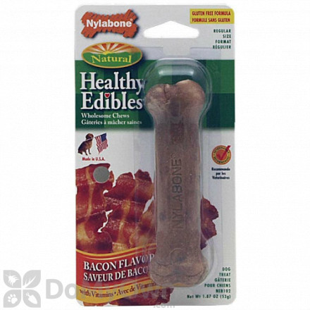 Nylabone Healthy Edibles Bacon Dog Treat