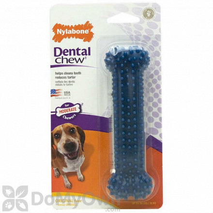 Nylabone Dental Chew Bone - Wolf