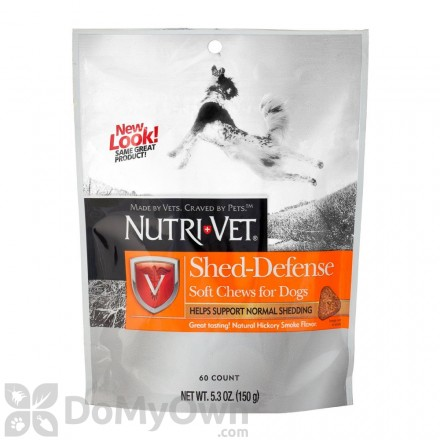 Nutri-Vet Shed Defense Soft Chews