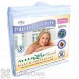 Protect-A-Bed AllerZip Smooth Pillow Protectors - King