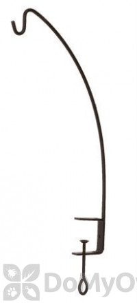 Panacea Black Clamp Style Angle Hook For Bird Feeders 24 in. (83035)
