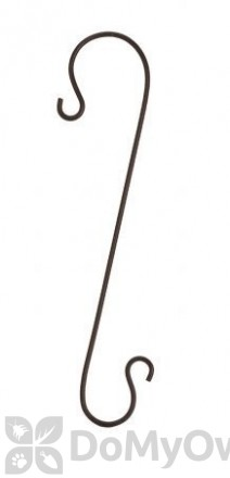 Panacea Black Branch Hook For Bird Feeders 18 in. (83075)