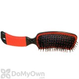 Partrade Curved Mane Brush - Red