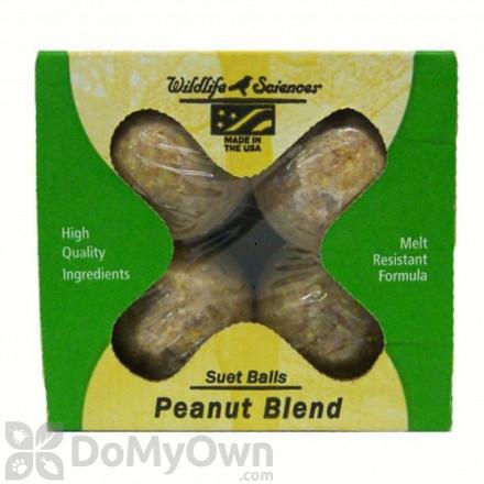 Peanut Blend Suet Balls 4 pack (boxed)