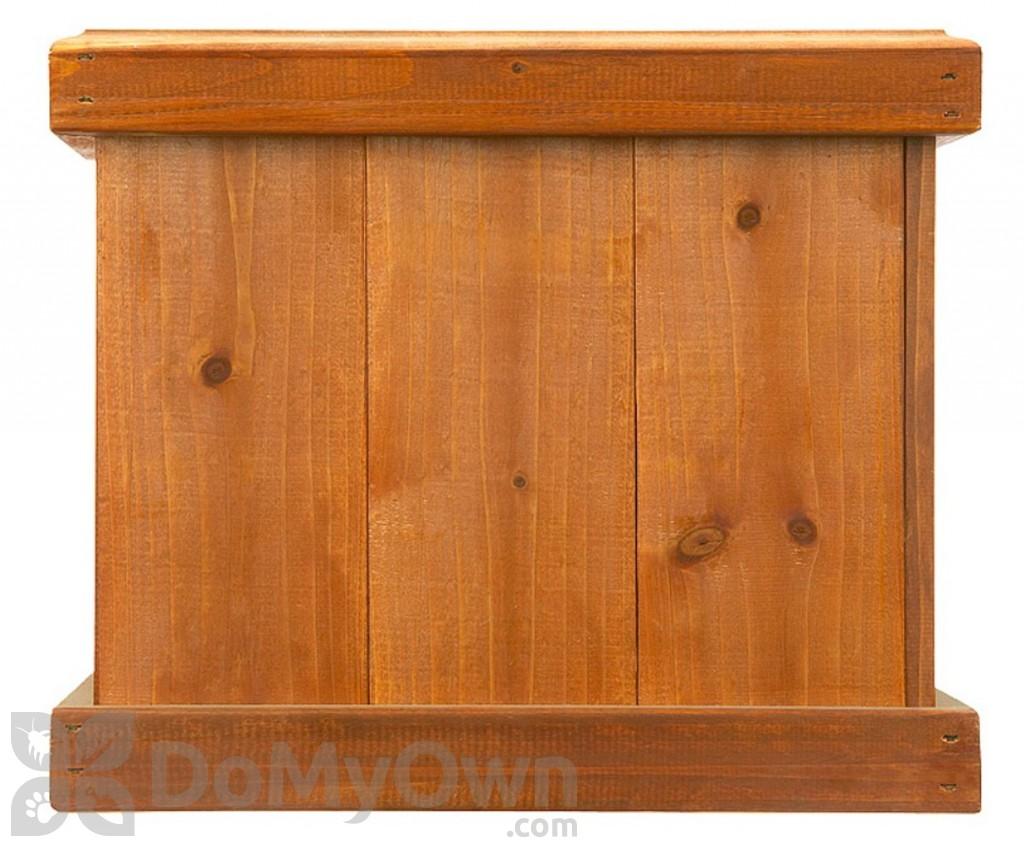 Pennington Square Planter Box Heartwood 0530