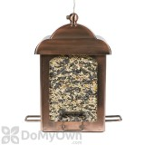 Perky Pet Copper Antique Chalet Bird Feeder 5 lb. (365)