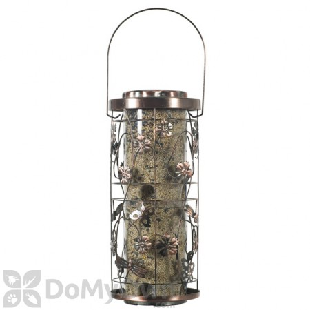 Perky Pet Copper Meadow Seed Bird Feeder 4 lb. (570)