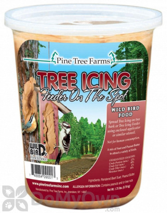 Pine Tree Farms Tree Icing Feeder On The Spot Bird Food 1.75 lb (9001)