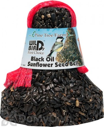 Pine Tree Farms Black Oil Sunflower Seed Bell Bird Food 11 oz. (1310)