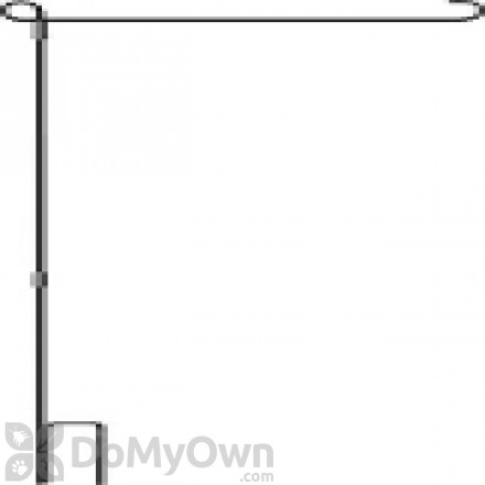 Premier Designs 3 Piece Collapsible Garden Flag Pole (PD23952)