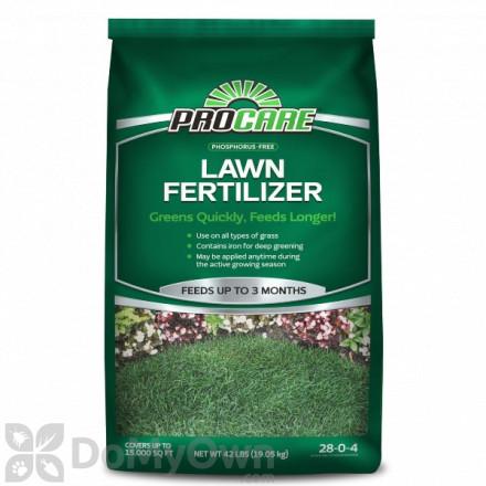 Pro Care Phosphorus Free Lawn Fertilizer 28 - 0 - 4
