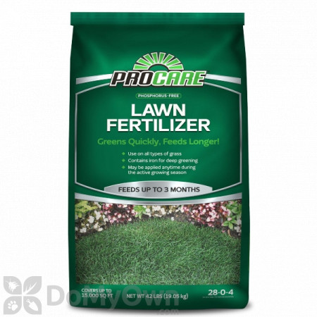 Pro Care Phosphorus Free Lawn Fertilizer 28 - 0 - 4