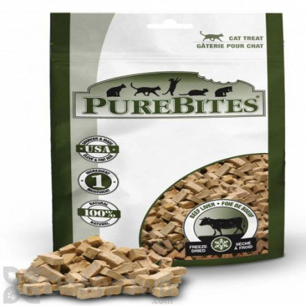 PureBites Freeze Dried Beef Liver Cat Treats