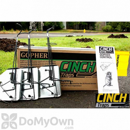 CINCH Traps Gopher Trap Kit 3-Pack