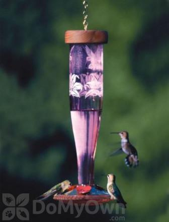 Schrodt Amethyst Paradise Lantern Hummingbird Feeder 12 in. (HBLAP)