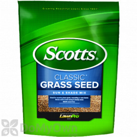 Scotts Classic Grass Seed Sun and Shade Mix