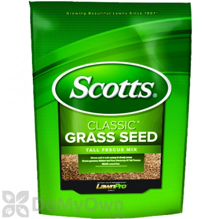 Scotts Classic Grass Seed Tall Fescue Mix