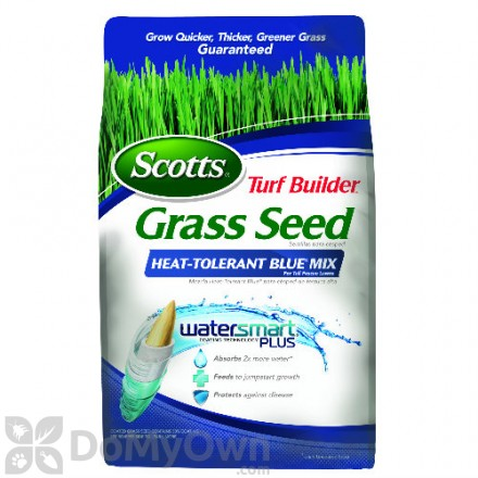 Scotts Turf Builder Grass Seed Heat-Tolerant Blue Mix For Tall Fescue Lawns 7 lbs.