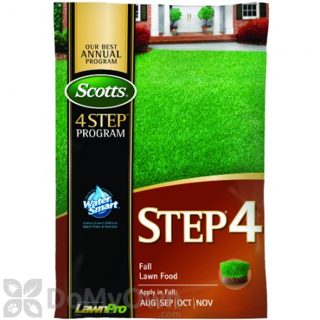 Scotts STEP 4 Fall Lawn Food Fertilizer