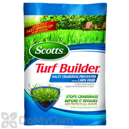Scotts Turf Builder Halts Crabgrass Preventer with Lawn Food