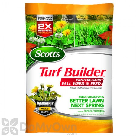 Scotts Turf Builder WinterGuard Fall Weed and Feed 3