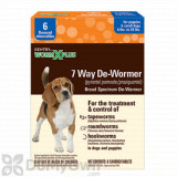 Sentry HC Worm X Plus 7 Way De-Wormer for Puppies and Small Dogs - box (6 count)