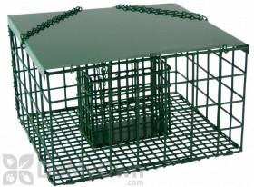 Songbird Essentials Squirrel Resistant Suet Palace Bird Feeder (SE6000)