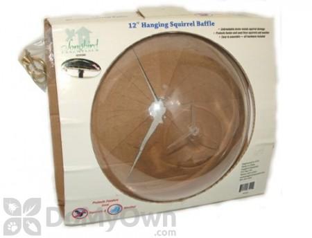 Songbird Essentials Hanging Squirrel Baffle 12 in. (SESQ83)