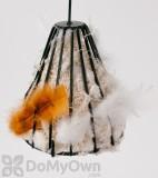 Songbird Essentials Birdie Bell with Nesting Material Bird Feeder (SEWF91010)
