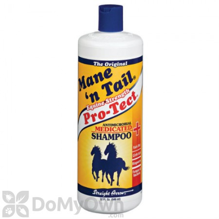 Straight Arrow Mane N Tail Pro-Tect Antimicrobial Medicated Shampoo