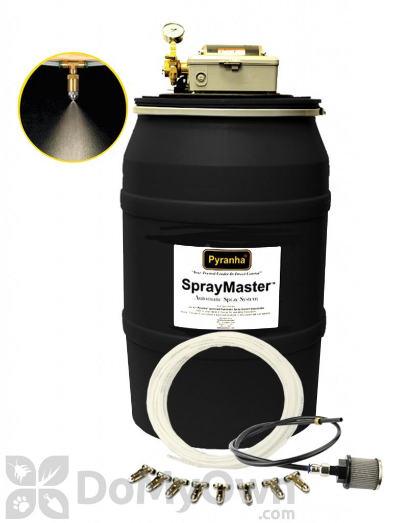 Pyranha Spraymaster Barn Misting System 002sm55galkit