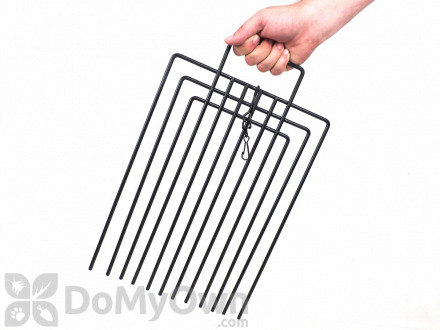 Tomahawk Feral Cat Trap Divider with Powder Coated Finish and Locking Clip - Model TD12NC