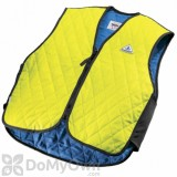TechNiche HyperKewl Evaporative Cooling Sport Vest - Hi Viz Lime Medium (6529-HV-M)