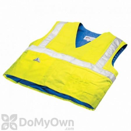 TechNiche HyperKewl Evaporative Cooling Traffic Safety Vests - Hi - Viz Lime