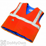 TechNiche HyperKewl Evaporative Cooling Traffic Safety Vests - Hi - Viz Orange