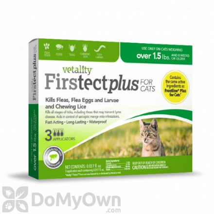 Vetality Firstect Plus for Cats