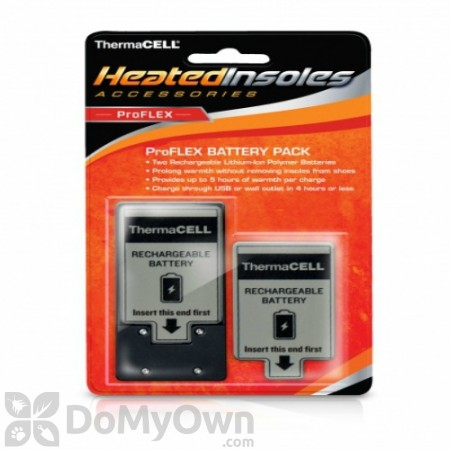 ThermaCELL Heated Insoles ProFLEX Battery Pack