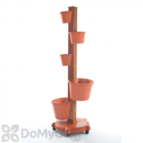 My Garden Post Vertical Growing System With Drip Irrigation