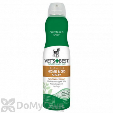 Vets Best Flea and Tick Home and Go Spray