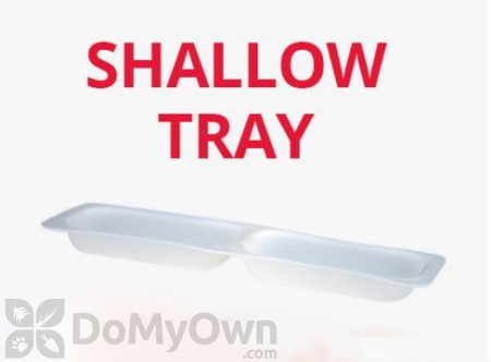 Shallow Tray Refill for FBS-1 Fly Station - box of 60 trays