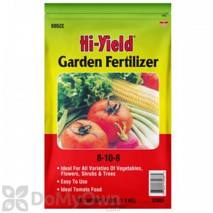 Hi-Yield Garden Fertilizer 8-10-8