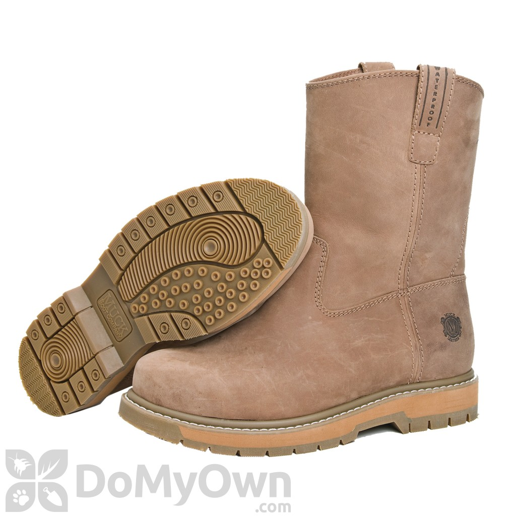 39def809325 Muck Boots Wellie Leather Boot Wide Width